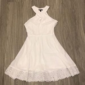 NWOT White mini summer dress